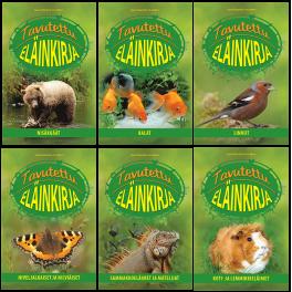 Tavutettu eläinkirja - 6 kirjan sarja