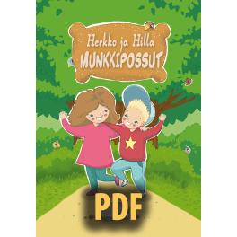 Herkko ja Hilla – Munkkipossut - PDF
