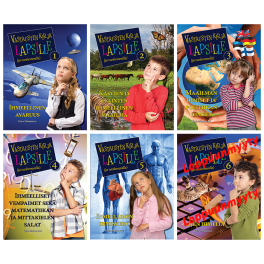 Vastausten kirja lapsille (ja vanhemmille) -sarja (1-5)